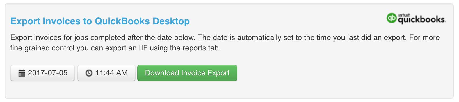 QuickBooks Desktop – vWork Support